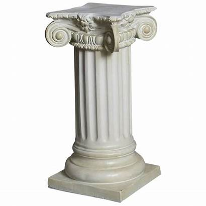 Pedestal Transparent Columns Pilaar Greek Column Ionic