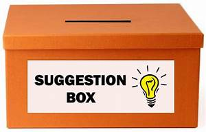 5 Modern Alternatives to the Suggestion Box | Creatively ...