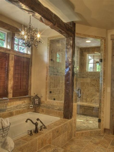 Pics Of Rustic Bathrooms by Best 25 Rustic Shower Ideas Only On Cabin