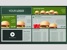 Digital Signage Templates and PowerPoint Templates