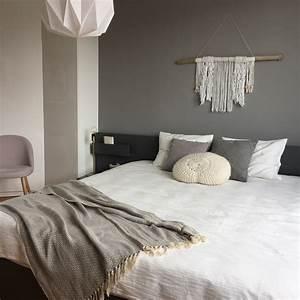 Chambre Grise Et Beige. quel linge de lit dans une chambre beige ...