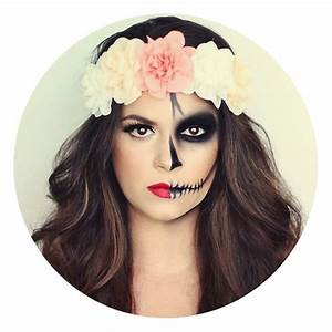 Maquillage Halloween Facile Homme : idee maquillage facile halloween femme ~ Melissatoandfro.com Idées de Décoration