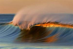 Sunset surf gets psychedelic, long-exposure treatment ...  Wave