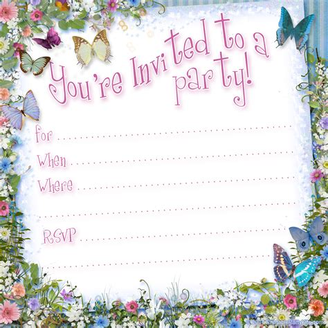invitation party templates free printable invitations on pinterest free printable