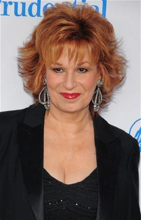 joy behar short celebrity hairstyles  women
