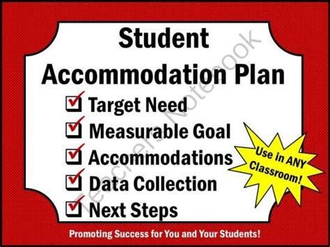 special  accommodation plan  promoting success
