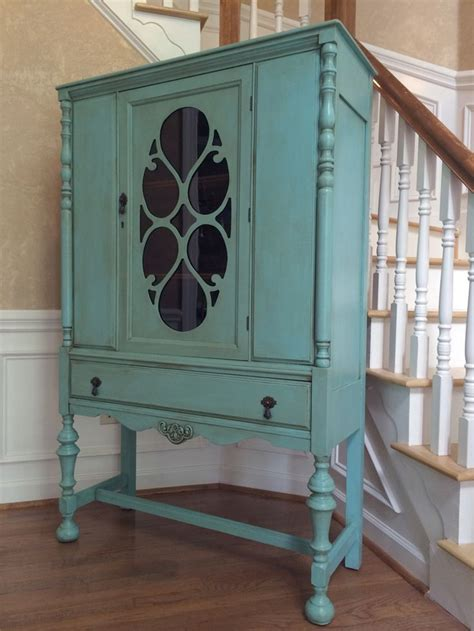 antique china cabinets best 25 china cabinet painted ideas on china