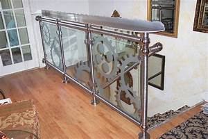 drink rail hand rail glass wall gears pub pinterest With kitchen cabinets lowes with plasma cut wall art
