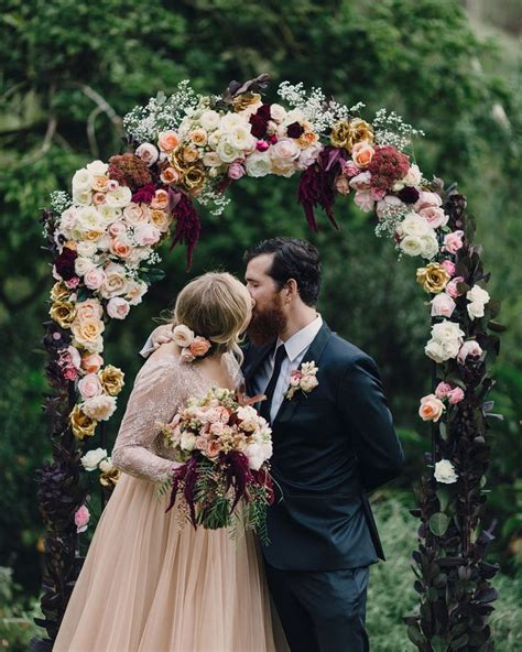 floral wedding arch flowers