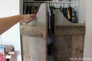 How (not) to make saloon doors - Domestic Imperfection