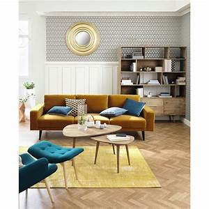 les 25 meilleures idees de la categorie maison du monde With tapis kilim avec canape en rotin maison du monde