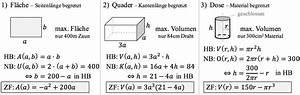 Entfernung Einfach Online Berechnen : extremwertprobleme einfach berechnen studyhelp ~ Themetempest.com Abrechnung