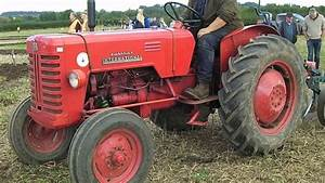 Mccormick International B-250 2 4 Litre Diesel Tractor With Plough
