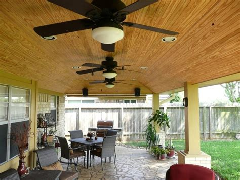 Rustic covered patio patio rustic with metal posts outdoor