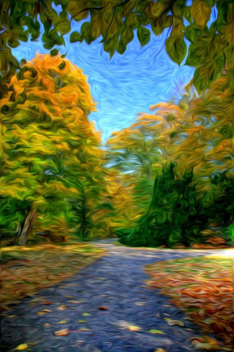 beautiful oil painting effect  photoshop  oil paint