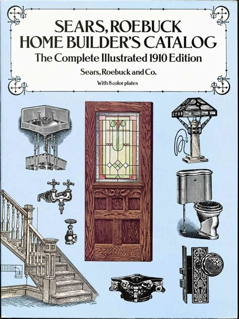 cover  sears roebuck home builders catalog published