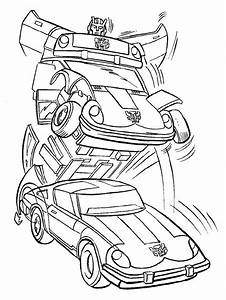 Bumblebee Transformer Coloring Pages - AZ Coloring Pages