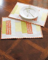 4 Free Patterns for Quilted Table Runners, Napkins & More