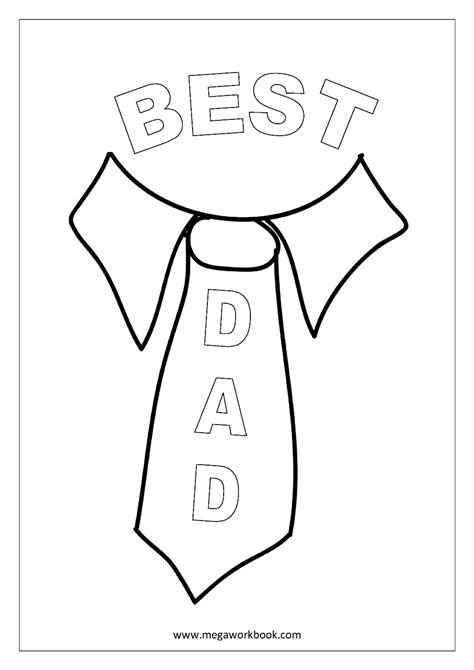 printable fathers day fathers day coloring pages  kids kindergarten  preschool