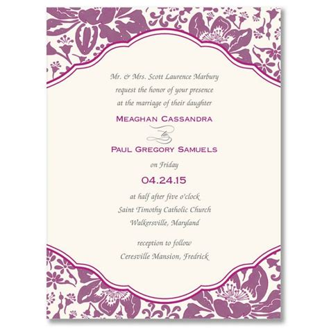 Card Template Blank Event Invitation Invitation Card