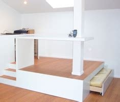 bureau estrade lit estrade solutions pour la décoration intérieure de
