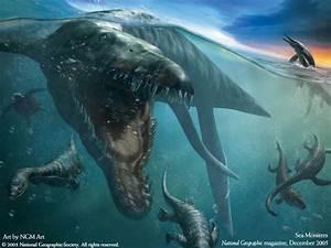 My Free Wallpapers Fantasy Wallpaper : Sea Monsters