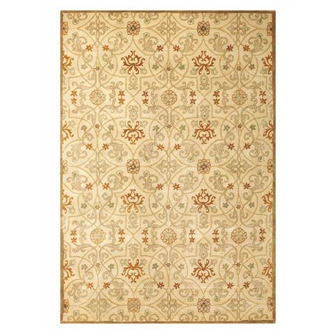 home decorators collection grimsby light gold 6 ft x 9 ft