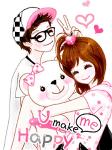 foto anime korea romantis 6 animasi kartun korea romantis bergerak puzzle