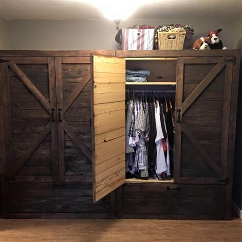 pallet wardrobe  drawers pallet furniture