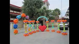 curso de decoraciones con globos decoraciones con globos