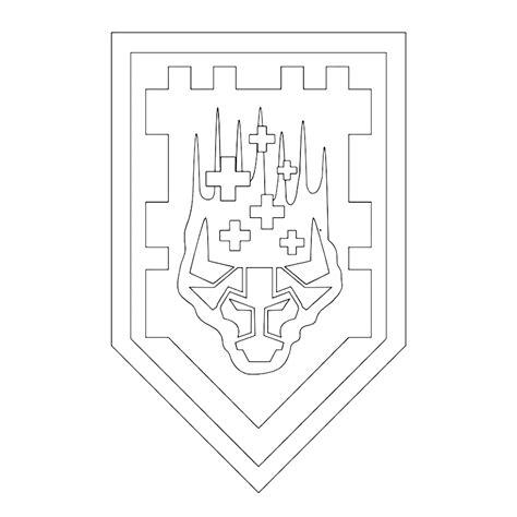 Kleurplaat Ridder Lego by Leuk Voor Lego Nexo Knights Ridderschild