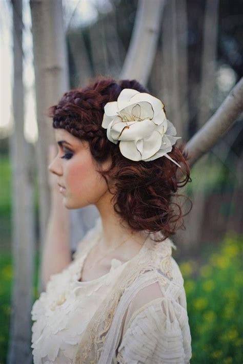 rustic wedding hairstyles elle hairstyles