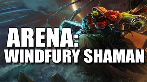 Hearthstone Shaman Arena Windfury Rockbiter Shaman! (p1