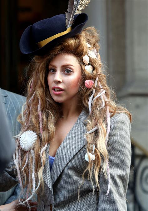 """Lady Gaga """"endlich Fühle Ich Mich Sexy!"""" Galade"""