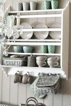 ikea stenstorp shelf plate shelves shabby chic kitchen