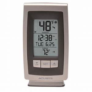Digital Thermometer With Outdoor Temperature