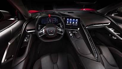 Corvette Interior Stingray Chevrolet 4k Convertible Z51