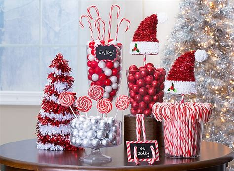 candy cane christmas decorations party city