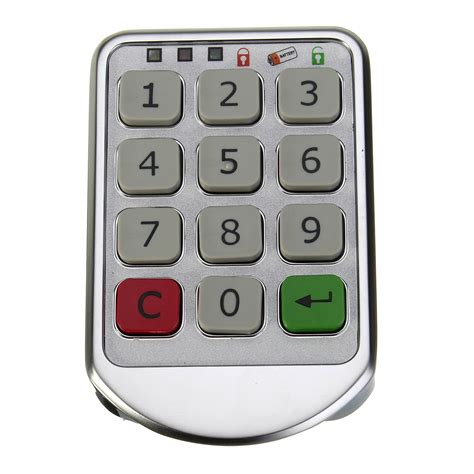 Cabinet Number by Metal Digital Electronic Password Keypad Number Cabinet