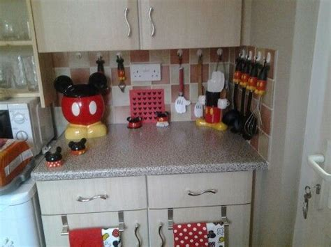 My Mickey Mouse Kitchen ♡♡  Mad About Mickey  Pinterest