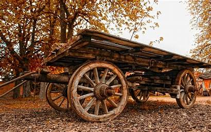 Cart Wallpapers Wagon Wood Wooden Widescreen Nature