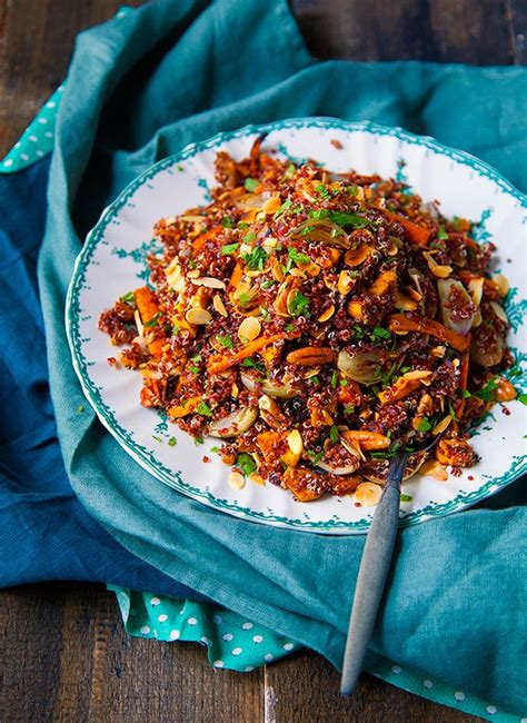 cuisiner quinoa les 25 meilleures idées concernant salade de quinoa sur