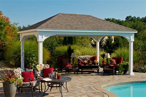 Outdoor Pavilion Plans That Offer a Pleasant Relaxing Time at Your Backyard   HomesFeed