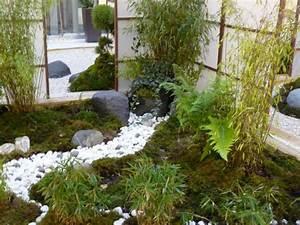 Jardin Japonais Interieur : dise o de jardines peque os y modernos 50 ideas ~ Dallasstarsshop.com Idées de Décoration