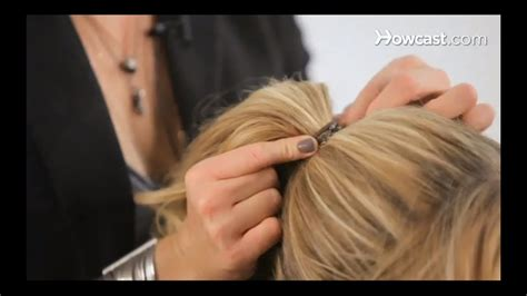 how to create a basic ponytail cute hairstyles youtube