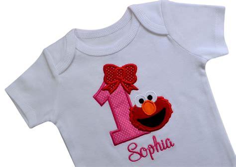 We also love that it's customizable: Customizable Elmo 1st Birthday Onesie Bodysuit Creeper for ...