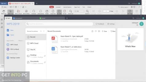 WPS Office 2020 Free Download - Get Into PC