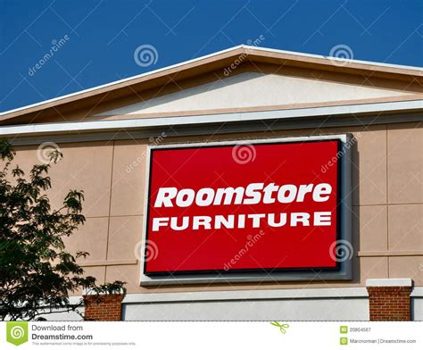 room store furniture sign editorial photography image