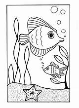 Coloring Ocean Sea Pages Under Printable Beach Animal Fish Summer Drawing June Animals Sheets Easy Need Drawings Colouring Allfreekidscrafts Waves sketch template