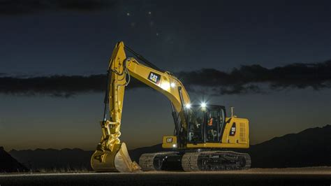caterpillar introduces   generation excavators